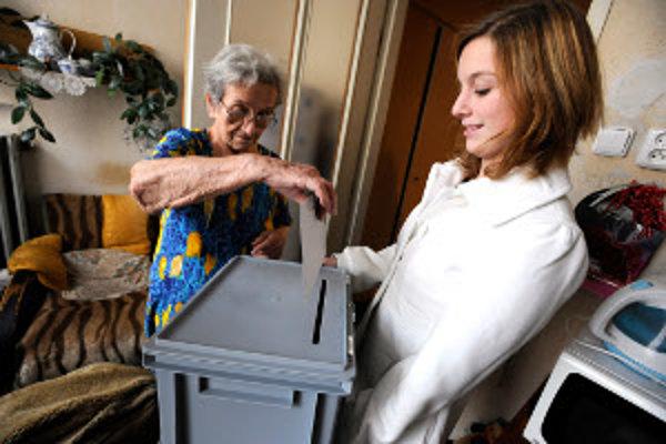 V penzióne pre dôchodcov v Bytči zapečatili 28 volebných lístkov.