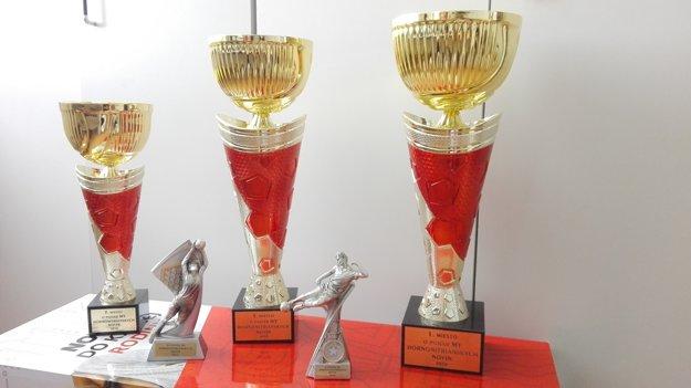 Trofeje pre najlepších sú už  pripravené.