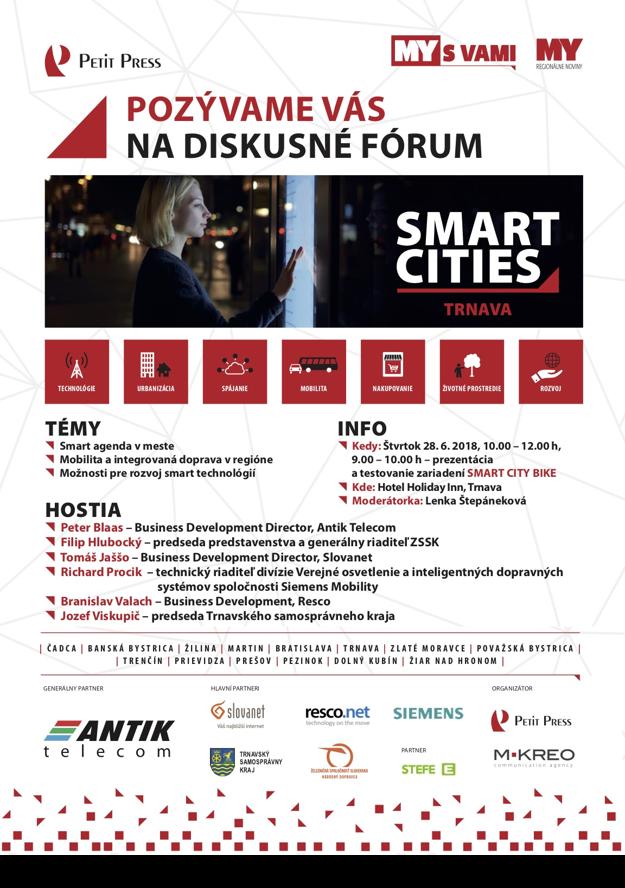 Diskusia Smart City v Trnave.