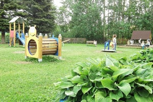 Detské ihrisko je už hotové. Tiež bolo súčasťou europrojektu.