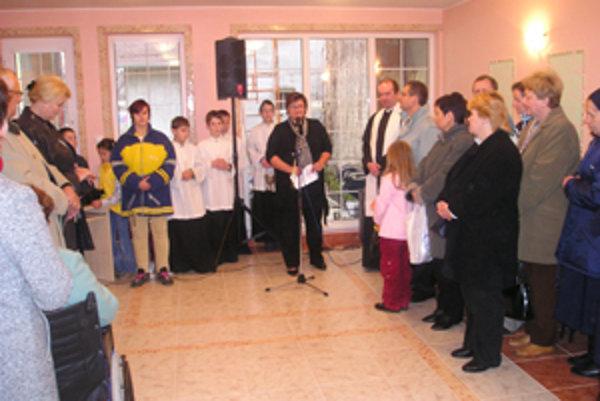 Na otvorení komunitného centra privítali mnoho vzácnych hostí.