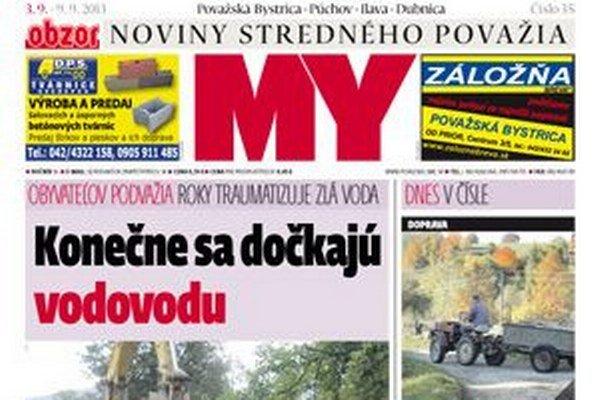 Aktuálne číslo novín.