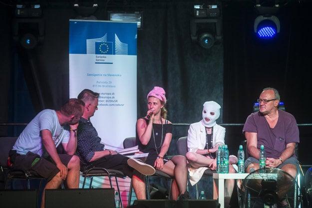 Pussy Riot diskutovali na Pohode.