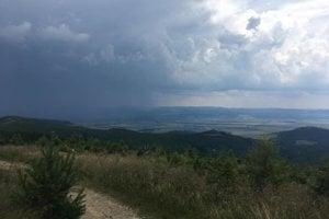 Spišská Magura - pohľad smerom na Levočské vrchy.