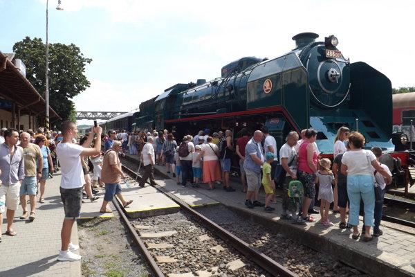 Prezidentský vlak dorazil do Nitry vo štvrtok.