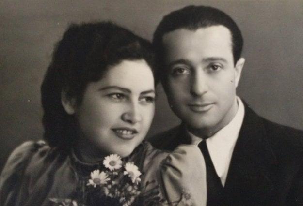 Pani Elvíra s manželom