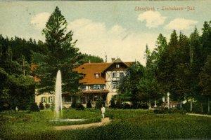 Levočské kúpele začiatkom 20. storočia.