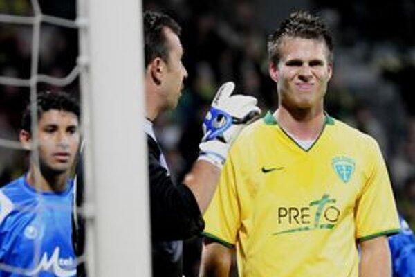 Peter Štyvar (vpravo) by si mohol v najbližšej dobe zahrať druhú anglickú ligu.