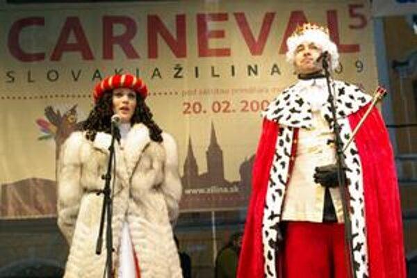 Kráľom a kráľovnou festivalu boli moderátori TV Markíza Dárius Richter a Adriána Poláková.