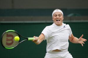 Jelena Ostapenková.
