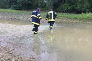 Do pátrania po Majke sa zapojili aj tri dobrovoľné hasičské zbory.