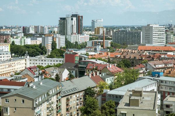 Mestská časť Bratislava-Ružinov.