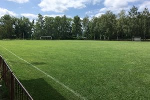 Pekné prostredie štadióna v Osuskom.