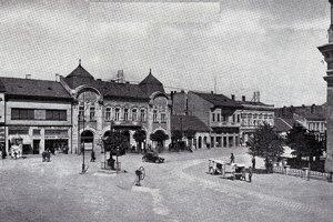 Takto kedysi vyzeralo námestie.