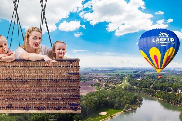 Výnimočnou súčasťou festivalu Lake Up bude let teplovzdušným balónom, z ktorého si budete môcť pozrieť areál festivalu a okolie mŕtveho ramena rieky Váh z výšky približne 60 metrov.