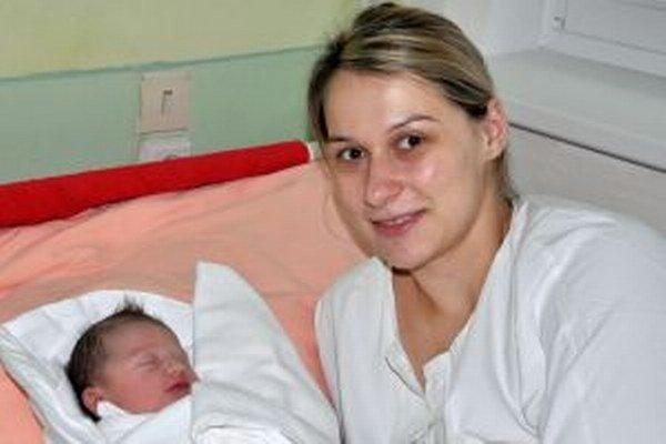 Zlatica Zápotočná s dcérkou Timeou, prvou Oravkou roku 2015.