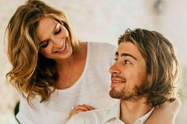 Peter Sagan s manželkou
