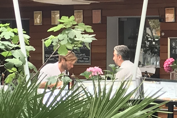 Včerajšie stretnutie v bratislavskej reštaurácii.