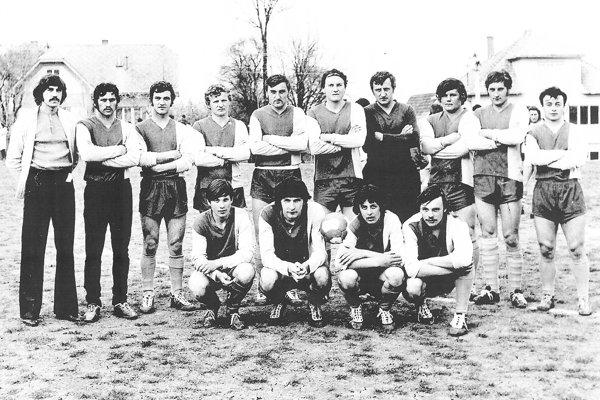 TJ Prestavlky v 70-tych rokoch.