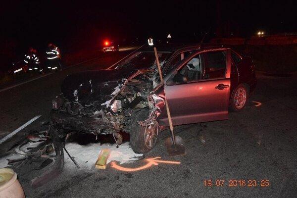 Nehoda si vyžiadala štyroch zranených.