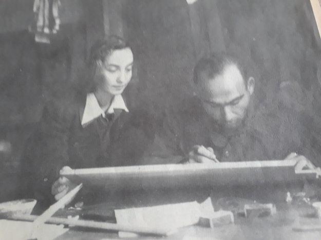 Jegorovovo tlačové centrum, SNP, 1944
