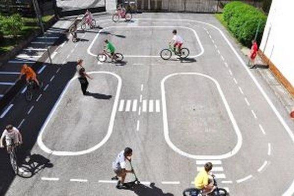 Nové dopravné ihrisko.