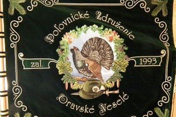 Poľovnícka štandarda Oravského Veselého.
