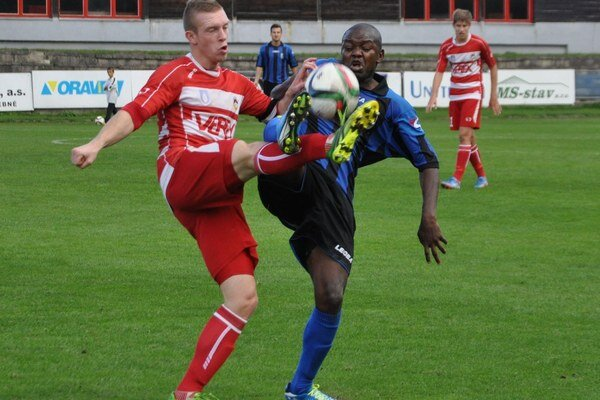 Oravskí futbalisti sa gólovo v Prešove nepresadili.