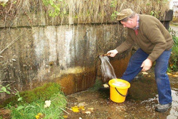 Ľudia využívajú vodu z kopcov už viac ako sto rokov.