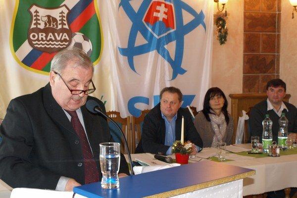 Vladimír Mušák v príhovore.