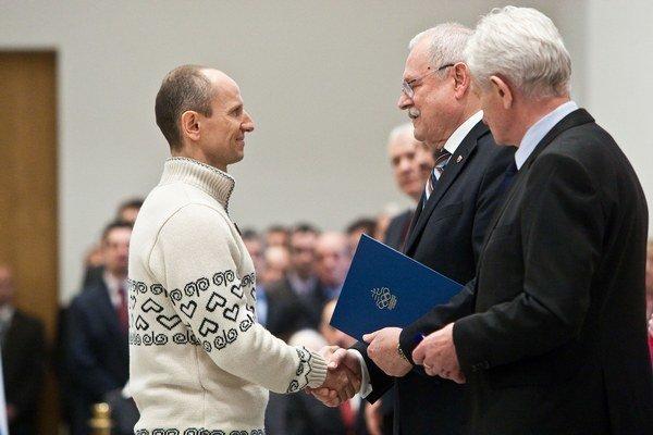 Martin Bajčičák zložil sľub u prezidenta Slovenskej republiky.