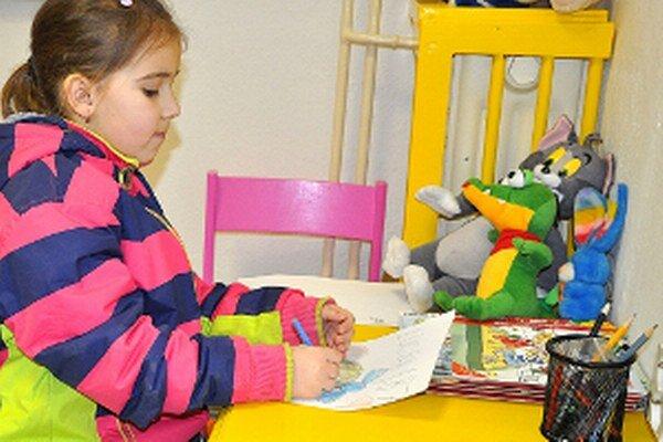 Detský kútik deti rady využívajú