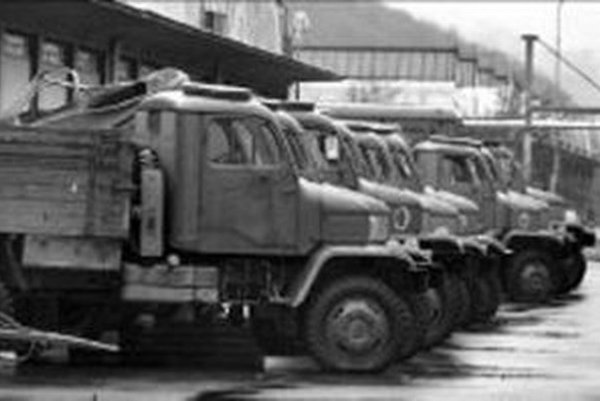 Armádnu techniku majú aj v Oravskom Bielom Potoku.