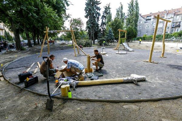 Odhadované náklady na revitalizáciu parku sú takmer pol milióna eur.