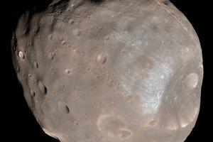 Mesiac Phobos.