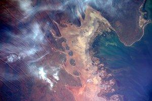 Severozápadné pobrežie Austrálie.