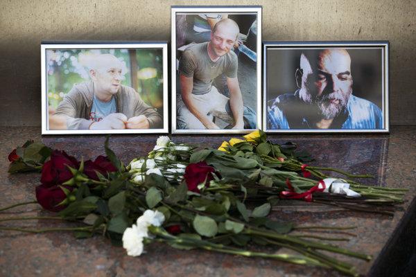 Rusko si myslí, že novinári sa stali obeťami lúpeže.
