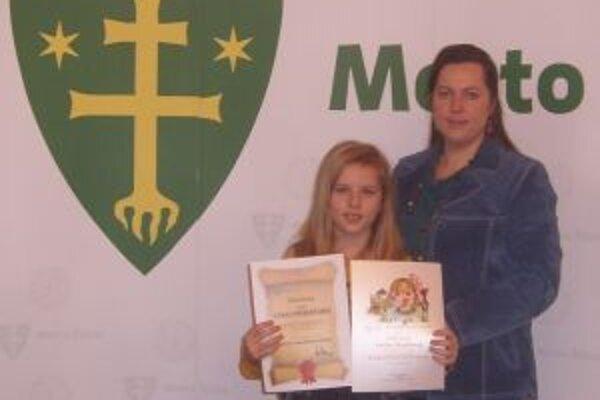 Úspešná Dolnokubínčanka s mamou.