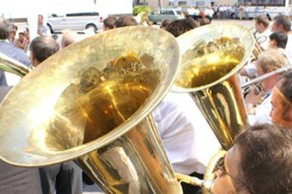 Prehliadka dychových hudieb patrí k najväčším podujatím v meste.