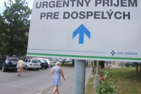 V Žiari pre nemocničný urgent zreorganizovali časť monobloku.