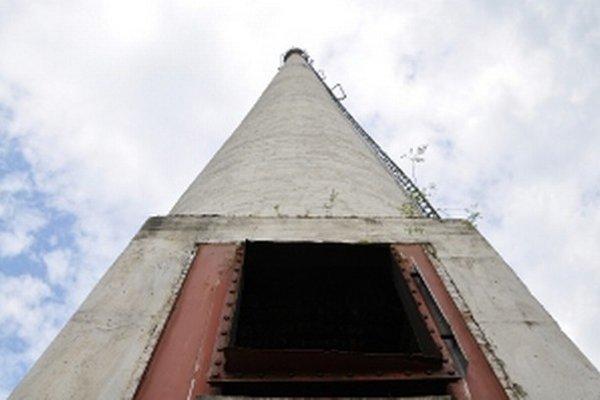 Komín bol dôvodom stratového predaja kotolne na Tulskej ulici.