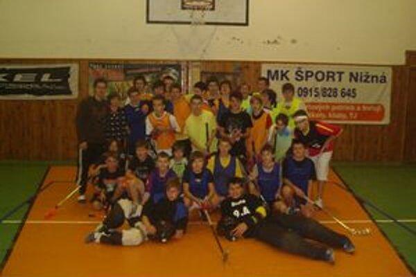 Účastníci Mikulášského turnaja.