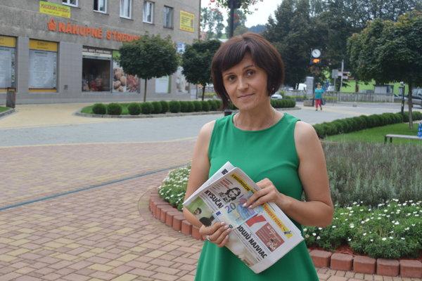 """Marcela z Klokočova vyhrala """"dvadsaťeurovku""""."""