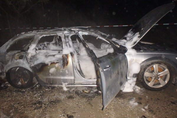 V aute našli obhorené telo. Išlo o54-ročného miestneho podnikateľa.