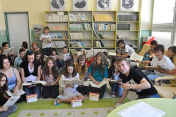 Čitatelia z Krušetnice.