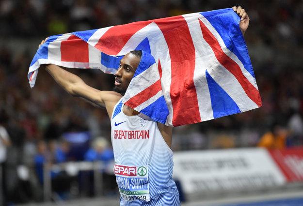 Matthew Hudson-Smith oslavoval svoje prvé individuálne zlato.