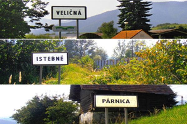 Tri dediny sú odteraz VIP susedia.