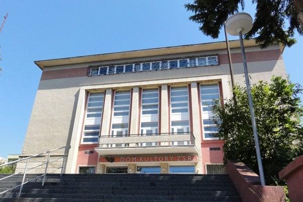 Dom kultúry ŽSR na Sokolskej vo Zvolene.