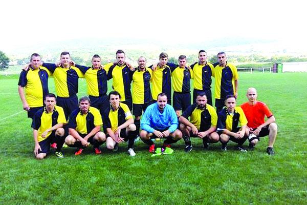 Futbalisti FC Tokaj Tŕňa.