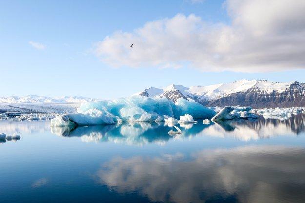 Ľadovce na Islande